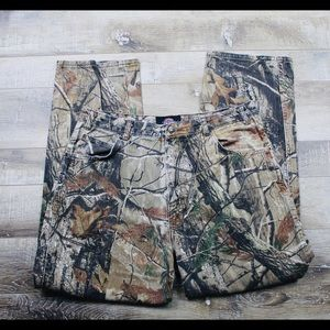 Dickies Camouflage Realtree Hunting Men's Sz 38x32